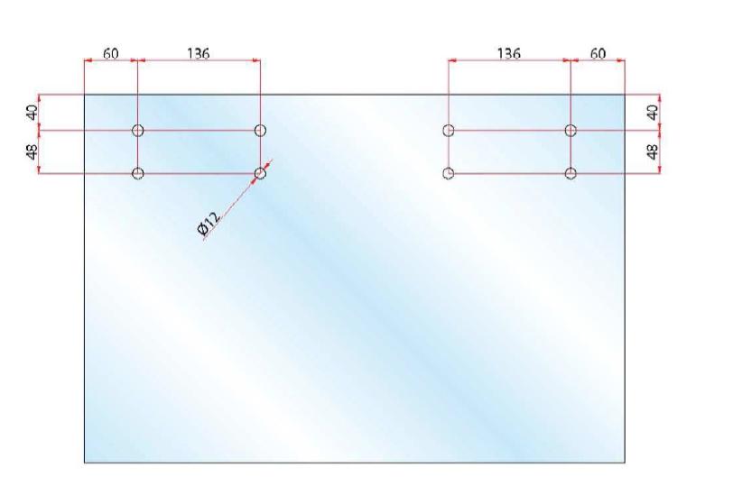 Binario divina scorrevole alluminio per porta vetro kg 80 - Misure porta scorrevole ...