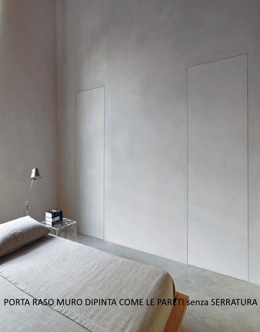Porta Filomuro rasomuro 80 x 240 con serratura INVISIBILE | eBay