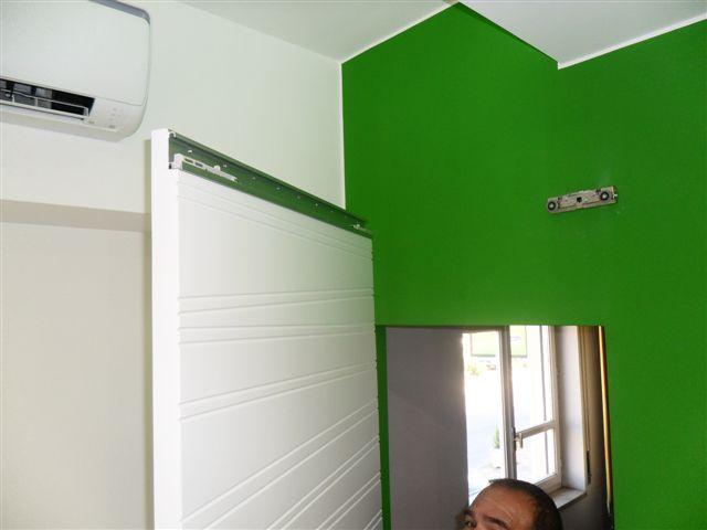 Binario sistema per porte scorrevoli esterno muro binario - Porta scorrevole esterno muro fai da te ...