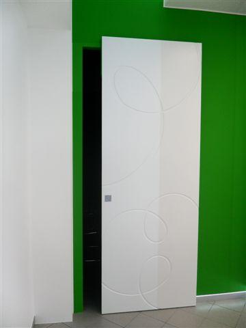 Binario sistema per porte scorrevoli esterno muro binario invisibile brevettato ebay - Porta a filo muro prezzi ...