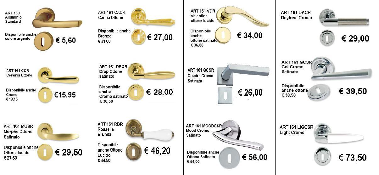 Porte interne rovere grigio finitura laminato graffiato - Maniglie per porte interne prezzi ...
