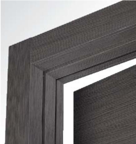 Porte interne rovere grigio finitura laminato graffiato effetto spazzolato - Porte interne rovere grigio ...