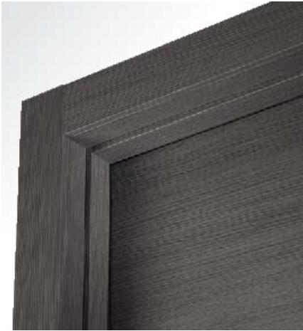 Porte interne Rovere Grigio finitura laminato graffiato effetto spazzolato  eBay