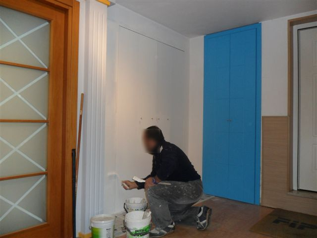 Libro cabina armadio raso muro porte filo muro sistemi rasoparete ...