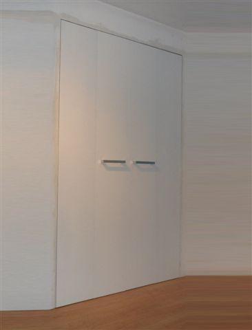 Porta grezza legno