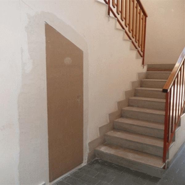 Porta filomuro rasomuro 80 x 240 con serratura invisibile - Porte raso muro ...