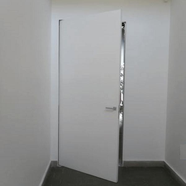 Porta Raso Muro con serratura INVISIBILE Filo Muro Sistemi ...