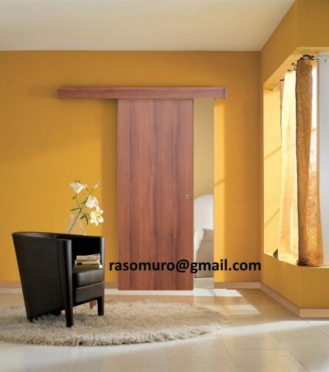 Credenza bassa shabby con ante scorrevoli - Porta scorrevole esterno muro fai da te ...