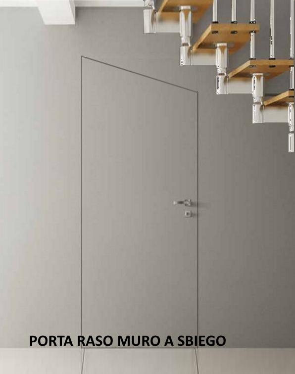 Porta Raso Muro con serratura INVISIBILE Filo Muro | eBay