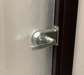 pinze per porta a scomparsa a vetro