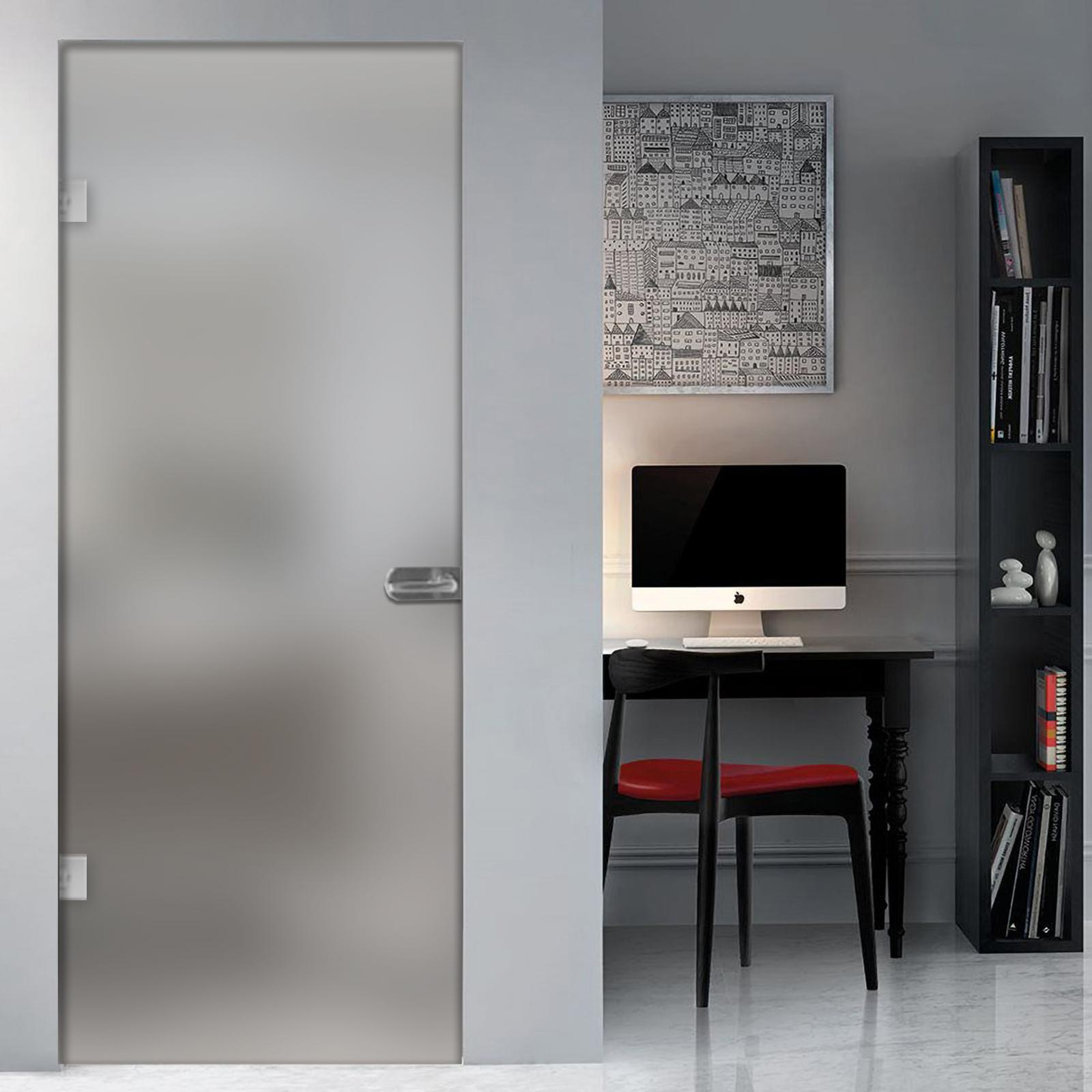 Porte Con Vetro Satinato détails sur porta battente interna vetro satinato o disegni misura 82x212  montaggio su muro