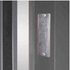 Detail Plate for fire door rei 120