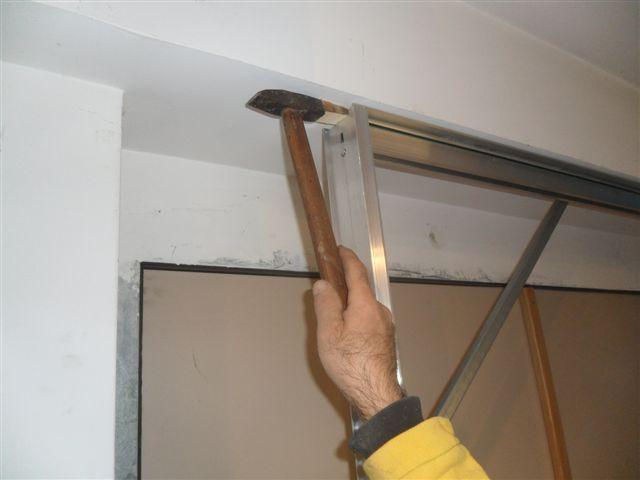 Libro cabina armadio raso muro porte filo muro ebay for Porta a libro apertura esterna