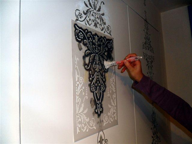 Libro cabina armadio raso muro porte filo muro ebay for Stencil per pareti leroy merlin