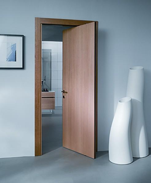 Porta Interna Rototraslante Colore Noce 87x213x11 Ebay