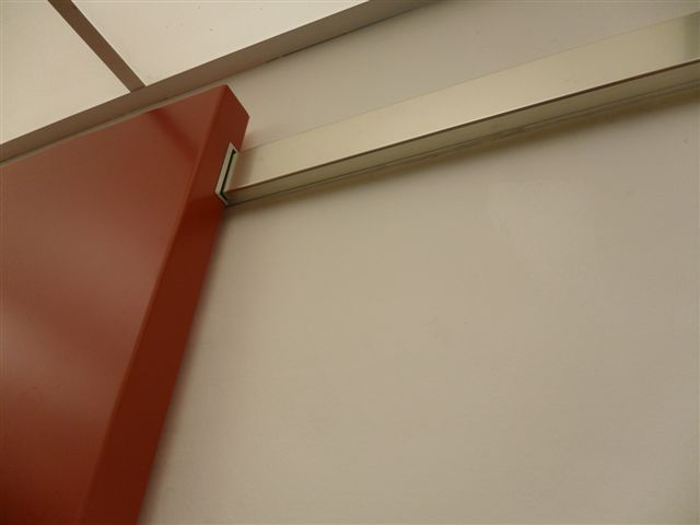 Porta interna scorrevole esterna divina filomuro 80 x 210 - Porta specchio scorrevole ...