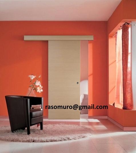 External Bleached Oak Sliding Door