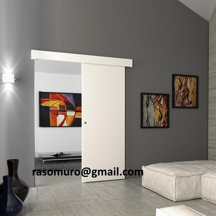External Sliding Door Beige Without Frame