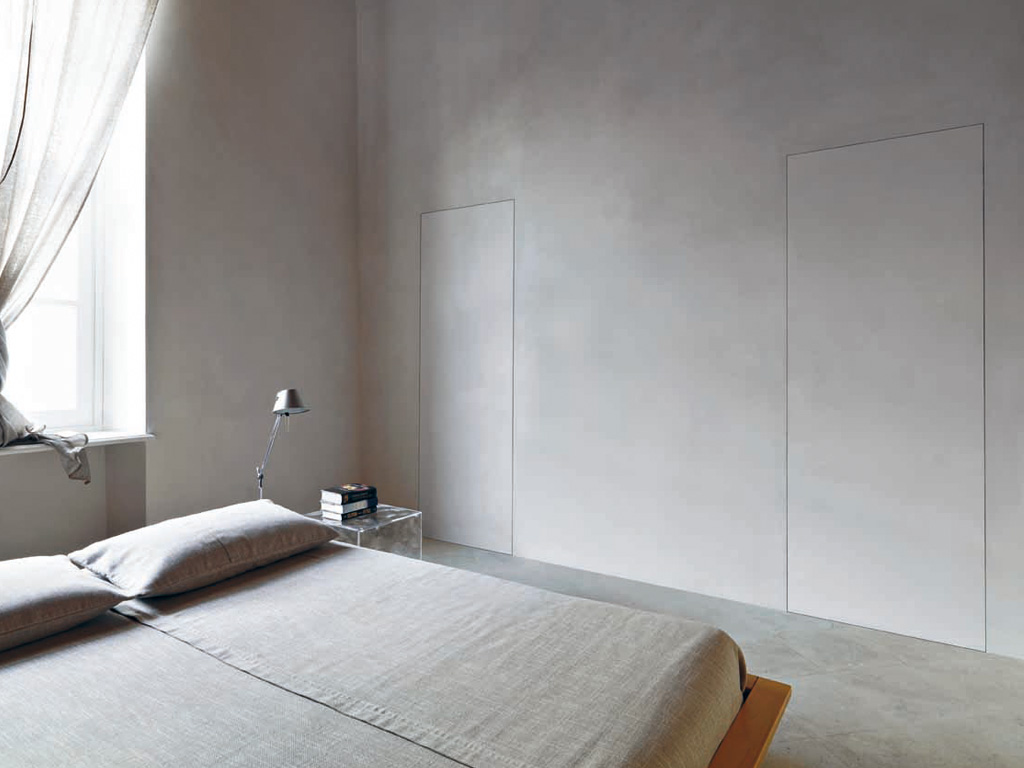 Armadio Raso Muro details about flush to wall internal doors/panels made in italy many uses  and colours offer
